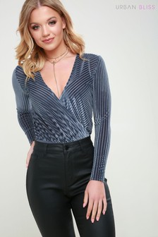 Urban Bliss Stripe Bodysuit