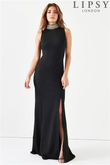 Lipsy Choker Maxi Dress
