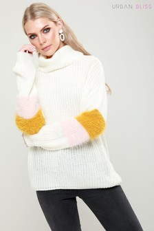 Urban Bliss Stripe Sleeve Jumper