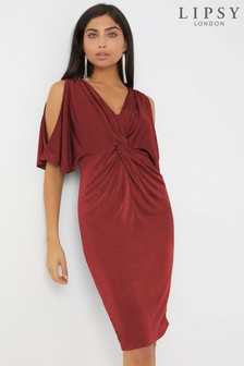 Lipsy Twist Front Dress