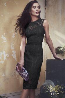 Lipsy VIP All Over Lace Midi Dress