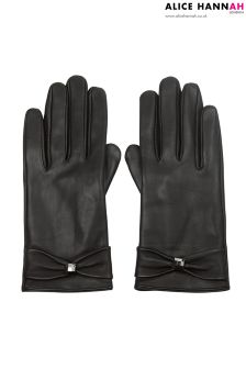 Alice Hannah Leather Gloves