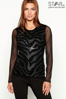 Star By Julien Macdonald Zebra Jumper