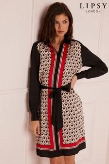 Sukienka koszulowa Lipsy Petite z geometrycznym nadrukiem