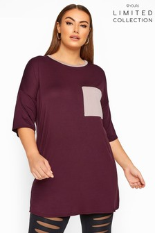 Yours Limited Collection Curve Pocket Top