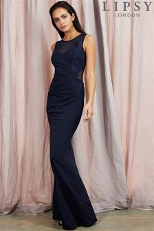 Lipsy Embroidered Maxi Dress