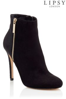 Lipsy Stiletto Zip Ankle Boots