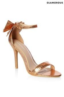 Glamorous Bow Back Sandals