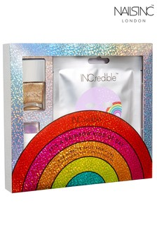 Nails Inc INC.redible It's a Rainbow Kinda Day Gift Set