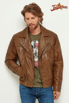Joe Browns Leather Biker Jacket