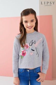 Lipsy Girl Unicorn Sweat Top