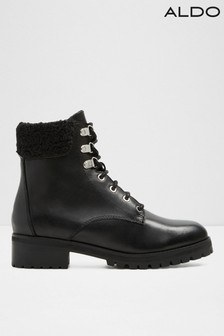 Aldo Leather Lace Up Hiker Boot
