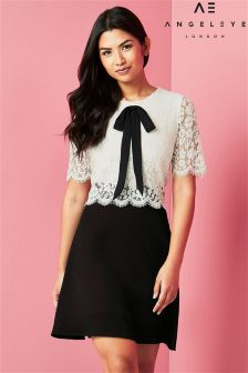 Angeleye Lace Skater Dress