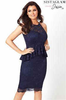 Sistaglam Loves Jessica Lace Dress