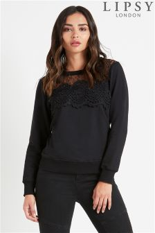 Lipsy Lace Pearl Sweater