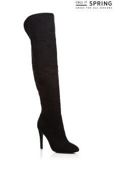 Call It Spring Ladies Over The Knee Boots