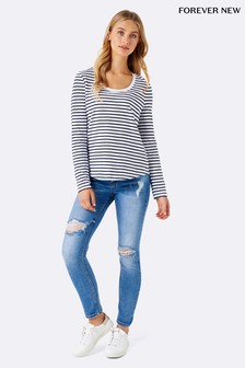 Forever New Emmy Jeans in Relaxed Straight Fit