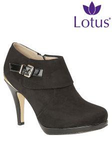 Lotus Stiletto Heel Boots