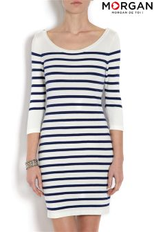 Morgan Striped Dress
