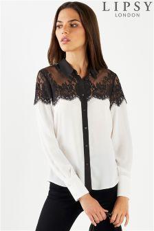 Lipsy Lace Shirt