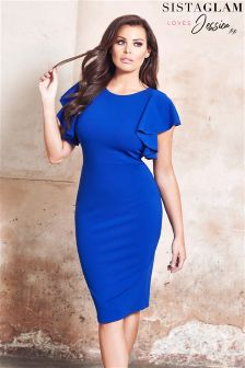 Sistaglam Loves Jessica  Bodycon Midi Dress