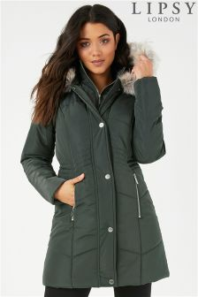 Lipsy Double Collar Quilted Jacket