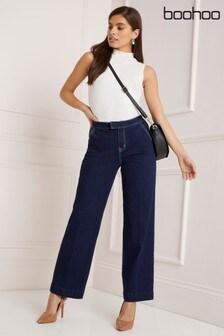 Boohoo Lara Matte PU Coated Skinny Trousers
