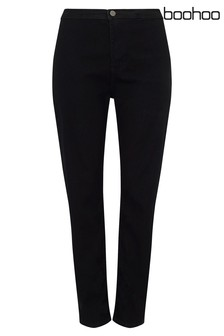 Boohoo Plus Laura High Waisted Tube Jeans
