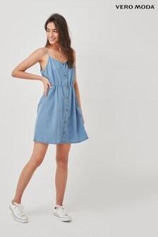 Vero Moda Cami Denim Mini Dress