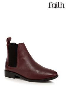 Bottines Chelsea Faith en cuir