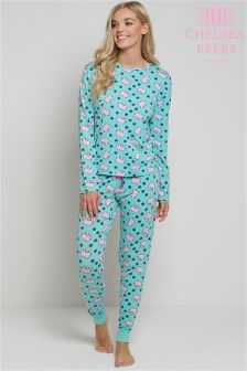 Chelsea Peers Flying Pigs Pyjama Set