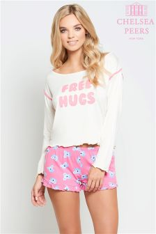Chelsea Peers Free Hugs Shorts Set