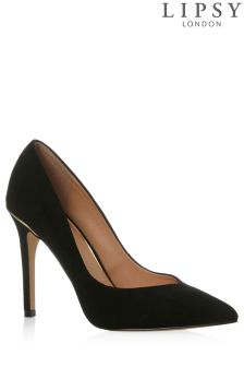 Lipsy Gold Heel Detail Court