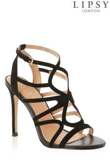 Lipsy Cut Out Detail Sandals