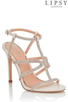 Lipsy Diamanté Detail Sandals