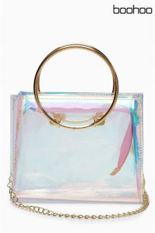 Boohoo Clear Tote Bag