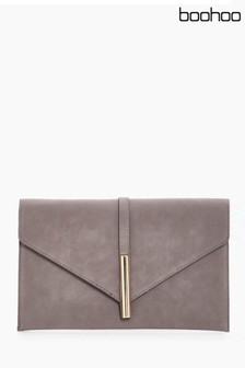 Boohoo Envelope Clutch