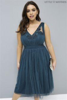 Little Mistress Curve Mesh Prom Dress