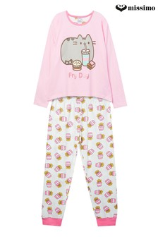 Missimo Nightwear Pusheen Movie Night Pyjama-Set