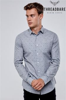 Threadbare Long Sleeve Printed Shirt