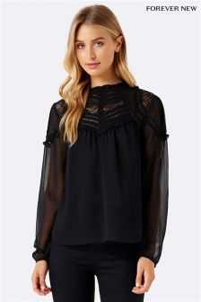 Forever New Victorian Blouse
