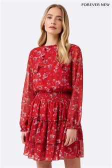 Forever New Irene Ruffle Dress