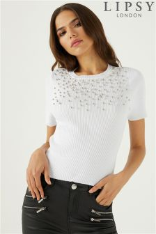 Lipsy Embellished Jumper