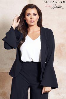 Sistaglam Loves Jessica Sleeve Tailored Blazer