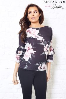 Jessica Wirght Floral Print Blouse