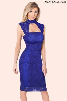 Sistaglam Lace Bodycon Dress