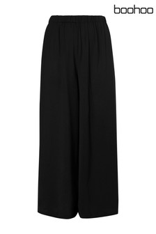 Boohoo Plus Slinky Wide Leg Trouser