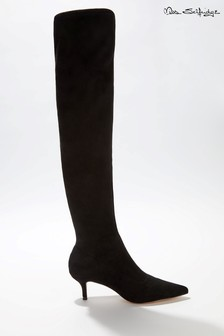 Miss Selfridge Pointed Stretch Over Knee Boots