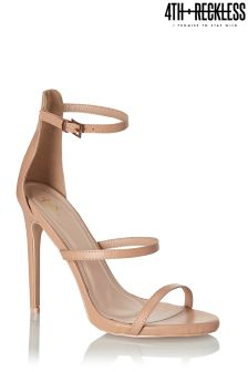 4th & Reckless Multi Strap Barely There Sandals