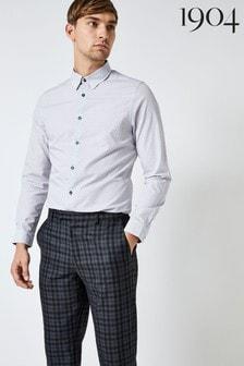 1904 Geometric Print Long Sleeve Shirt